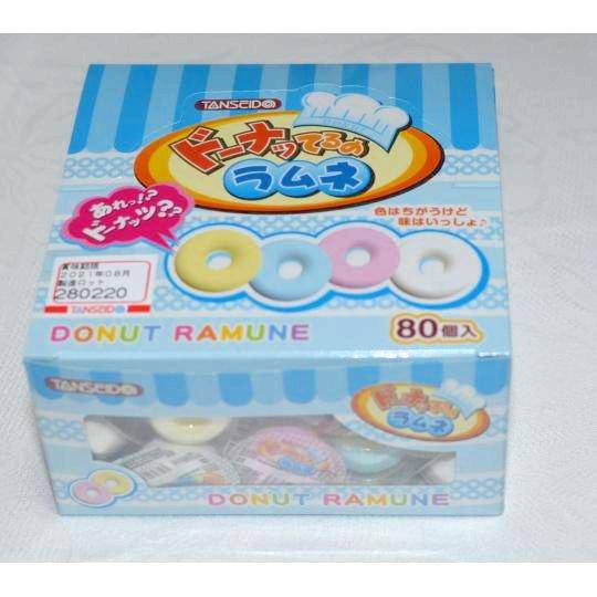 【箱売駄菓子】ドーナッてるのラムネ(80個入り 単価10円以下)