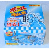【箱売駄菓子】ボールラムネサイダー味 (100個入り 単価10円以下)