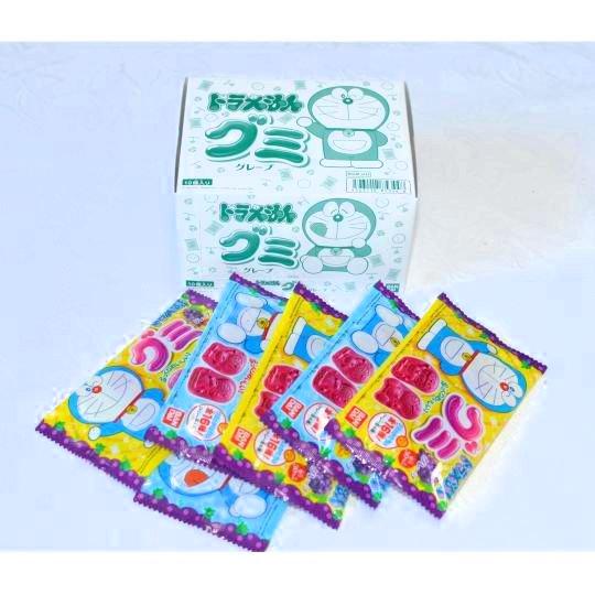 【箱売駄菓子】ドラえもんグミグレープ(10個入り 単価50円以下)