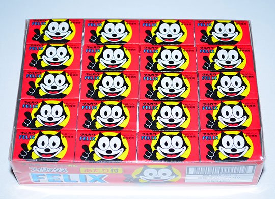 【イベントに最適・くじ付き】フィリックスガム(60個(55+あたり5) 単価10円以下)