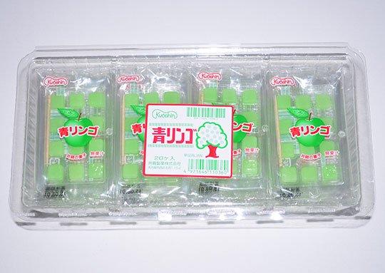 【箱売駄菓子】青リンゴ(20個入り 単価30円以下)