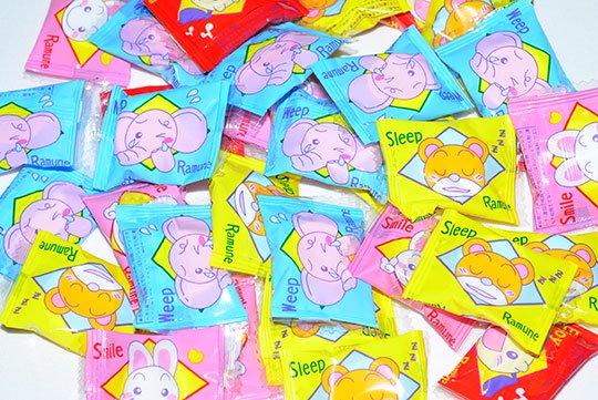 【箱売駄菓子】1kg スマイル動物ラムネ(およそ300個)