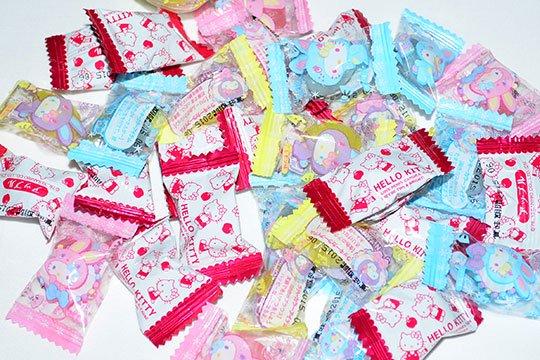 【箱売駄菓子】1kg ハローキティキャンデー(約260粒入)