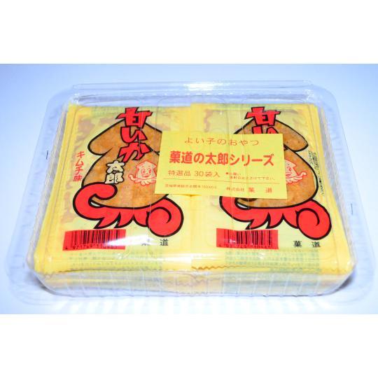 【箱売駄菓子】甘いか太郎キムチ味(30袋入り 単価20円以下)