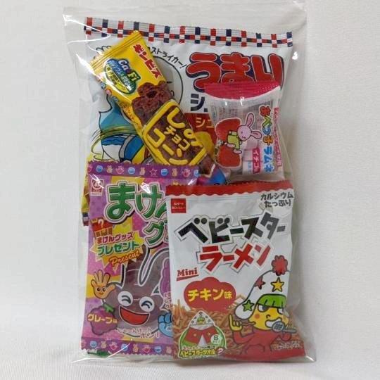 【子供用】子供会用菓子詰合せ180円D