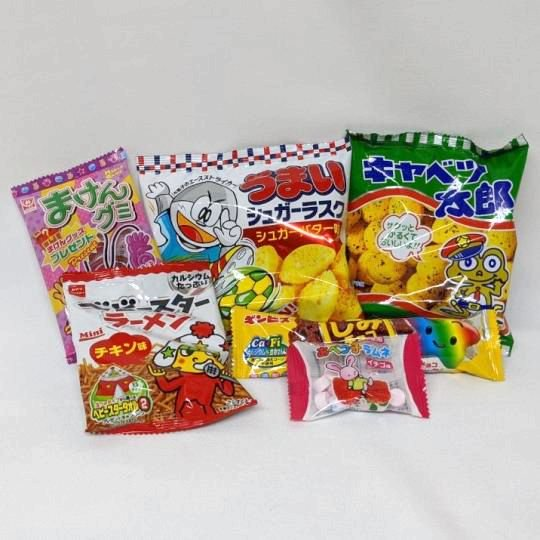 【子供用】子供会用菓子詰合せ160円D