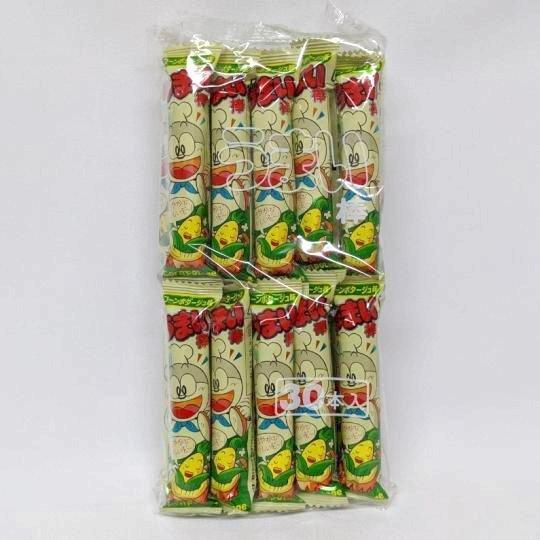 【袋売駄菓子】うまい棒コーンポタージュ味(30本入り 単価10円以下)