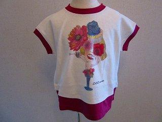 女の子pt Tシャツ(ピンク)S-L