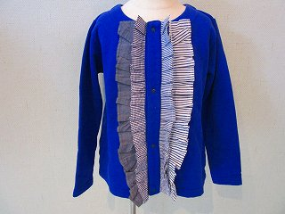 papillon cardigan(blue)130-160