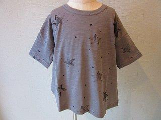 星柄Tシャツ(グレー)S