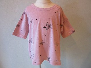星柄Tシャツ(ピンク)LL
