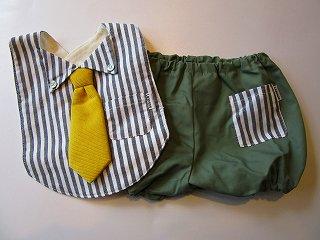 エプロン&ブルマ・DRESSUP TIE(Stripe)F