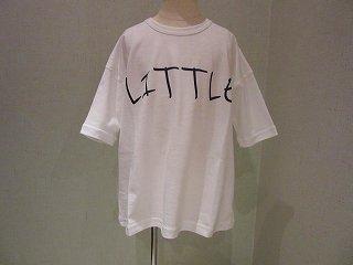 littleプリントTシャツホワイト(XS〜145)