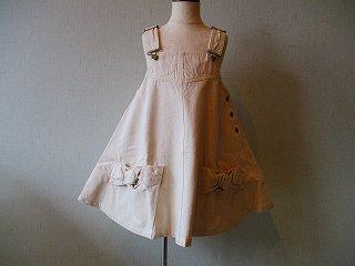 カタリーネジャンパードレス(アイボリー)80-110