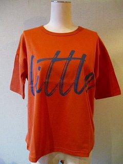 littleプリントTシャツDarkOrange(155-F)