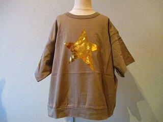 ルースポーラーTシャツ(KHAKI)90-120
