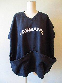 TASMANIA sleevess tops (ブラック)F