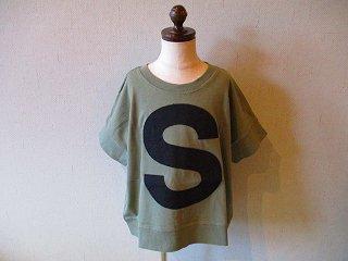 キャピタルレターTシャツ(MILITARY)90-120