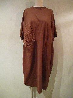 ◯△T-dress(brown)M