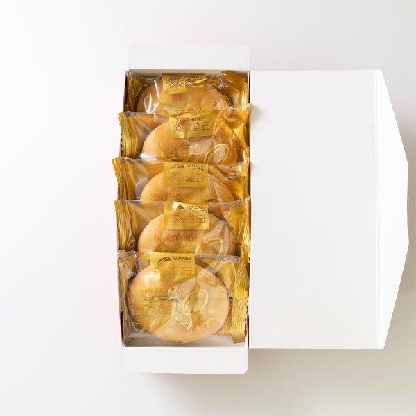 釜石銘菓:釜石ラグビーパイ つぶあんバター(5個入)
