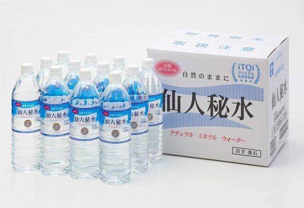 仙人秘水1100ml(12本入)×1箱