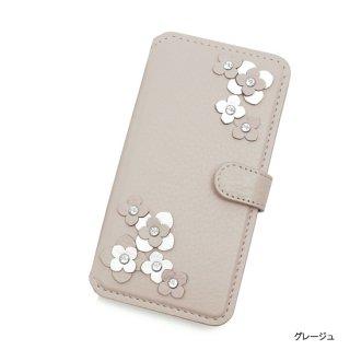iphone7&6(S) / 7&6(S)plus 手帳型フラップケース  シュリンク(2色)ビジュールキャトル