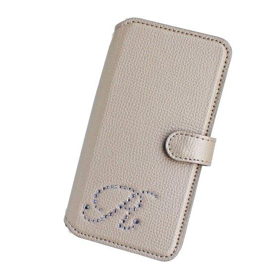 iphone7&6(S) / 7&6(S)plus 手帳型フラップケース  イニシャルオーダー (シュリンク8色)