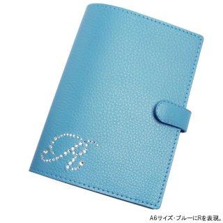 手帳カバー / ブックカバー  イニシャルオーダー A6 / B6 対応サイズ (6色)