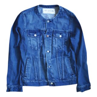 <img class='new_mark_img1' src='//img.shop-pro.jp/img/new/icons47.gif' style='border:none;display:inline;margin:0px;padding:0px;width:auto;' />No coller concho denim jacket(ノーカラーコンチョデニムジャケット)