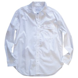 <img class='new_mark_img1' src='//img.shop-pro.jp/img/new/icons47.gif' style='border:none;display:inline;margin:0px;padding:0px;width:auto;' />single pocket white shirt(シングルポケットホワイトシャツ)