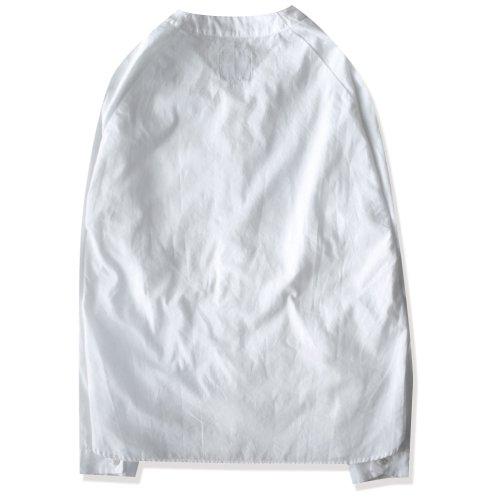 エディットクロージング edit clothing Baseball shirt (ベースボールシャツ) ホワイト/