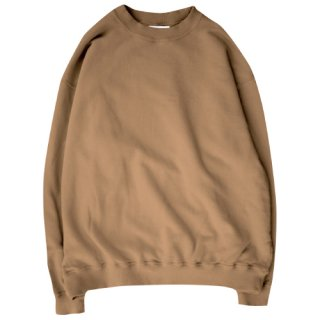<img class='new_mark_img1' src='https://img.shop-pro.jp/img/new/icons47.gif' style='border:none;display:inline;margin:0px;padding:0px;width:auto;' />Loose silhouette crewneck sweat(ルーズシルエットクルーネックスウェット/moka)