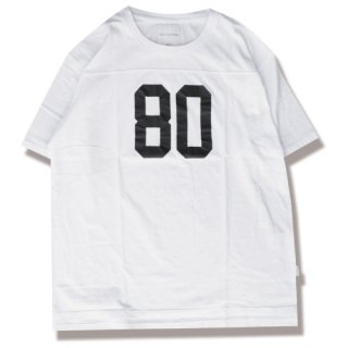 80's football tee(80's フットボールTシャツ/white)<img class='new_mark_img2' src='//img.shop-pro.jp/img/new/icons5.gif' style='border:none;display:inline;margin:0px;padding:0px;width:auto;' />