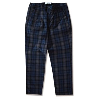 Pleat check tapered pants(プリーツチェックテーパードパンツ)<img class='new_mark_img2' src='//img.shop-pro.jp/img/new/icons16.gif' style='border:none;display:inline;margin:0px;padding:0px;width:auto;' />