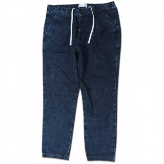 <img class='new_mark_img1' src='//img.shop-pro.jp/img/new/icons16.gif' style='border:none;display:inline;margin:0px;padding:0px;width:auto;' />Denim Pleat tapered pants(デニムプリーツテーパードパンツ/ブルーウォッシュ)