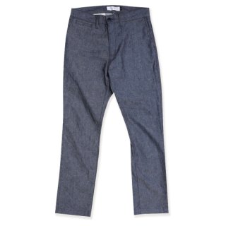<img class='new_mark_img1' src='https://img.shop-pro.jp/img/new/icons47.gif' style='border:none;display:inline;margin:0px;padding:0px;width:auto;' />Linen trousers pants(リネントラウザーズパンツ/OXブルー)