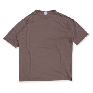 <img class='new_mark_img1' src='//img.shop-pro.jp/img/new/icons16.gif' style='border:none;display:inline;margin:0px;padding:0px;width:auto;' />Linen natural wash binder tee(リネンナチュラルウォッシュバインダーT/モカ)