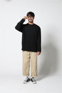 <img class='new_mark_img1' src='//img.shop-pro.jp/img/new/icons24.gif' style='border:none;display:inline;margin:0px;padding:0px;width:auto;' />Wide chino pants(ワイドチノパンツ)