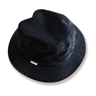 <img class='new_mark_img1' src='https://img.shop-pro.jp/img/new/icons24.gif' style='border:none;display:inline;margin:0px;padding:0px;width:auto;' />Corduroy bucket hat(コーデュロイバケットハット/black)