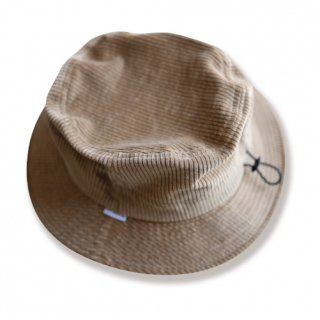 <img class='new_mark_img1' src='https://img.shop-pro.jp/img/new/icons47.gif' style='border:none;display:inline;margin:0px;padding:0px;width:auto;' />Corduroy bucket hat(コーデュロイバケットハット/ブラウンベージュ)