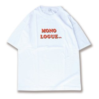 <img class='new_mark_img1' src='https://img.shop-pro.jp/img/new/icons24.gif' style='border:none;display:inline;margin:0px;padding:0px;width:auto;' />Rogo print tee(ロゴプリントT/ホワイト)