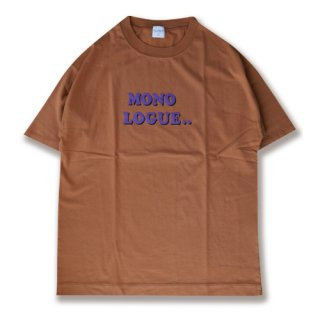 <img class='new_mark_img1' src='https://img.shop-pro.jp/img/new/icons47.gif' style='border:none;display:inline;margin:0px;padding:0px;width:auto;' />Rogo print tee(ロゴプリントT/テラコッタ)
