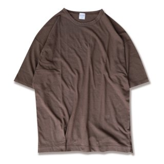 <img class='new_mark_img1' src='https://img.shop-pro.jp/img/new/icons47.gif' style='border:none;display:inline;margin:0px;padding:0px;width:auto;' />Linen natural wash binder tee(リネンナチュラルウォッシュバインダーT/ダークブラウン)
