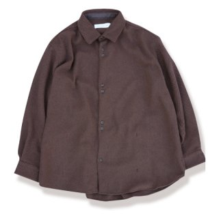 <img class='new_mark_img1' src='https://img.shop-pro.jp/img/new/icons24.gif' style='border:none;display:inline;margin:0px;padding:0px;width:auto;' />Herringbone wool shirts(ヘリンボーンウールシャツ/brown)