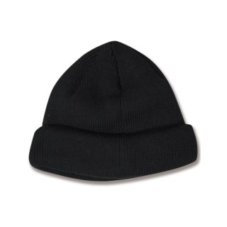 <img class='new_mark_img1' src='https://img.shop-pro.jp/img/new/icons12.gif' style='border:none;display:inline;margin:0px;padding:0px;width:auto;' />Shallow knit cap(無地シャローニットキャップ/ブラック)