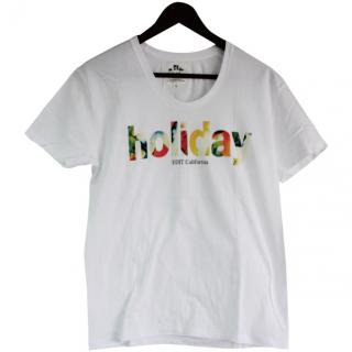 <img class='new_mark_img1' src='//img.shop-pro.jp/img/new/icons47.gif' style='border:none;display:inline;margin:0px;padding:0px;width:auto;' />Holiday U-neck print Tee