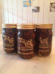 ギリシャ カラマタ産オリーブスライス オイル漬け 120g