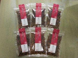 松軟焼培製成 奢華鰹魚松×昆布  6袋装 (40g×6)
