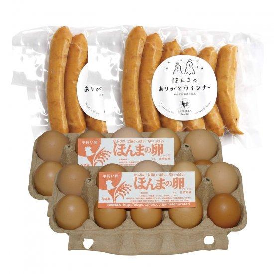 ほんまの卵&ウインナーセット