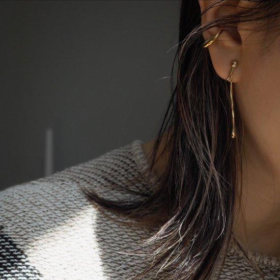 (1piece) Swinging Veloce 耳环或耳环 Silver 925(选择银色或 18k 板色)